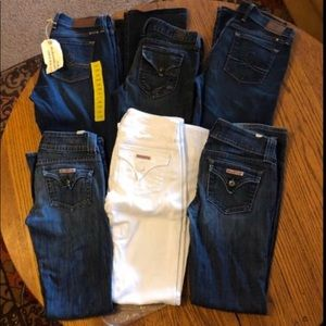 Hudson and Lucky Jeans- 150 for all